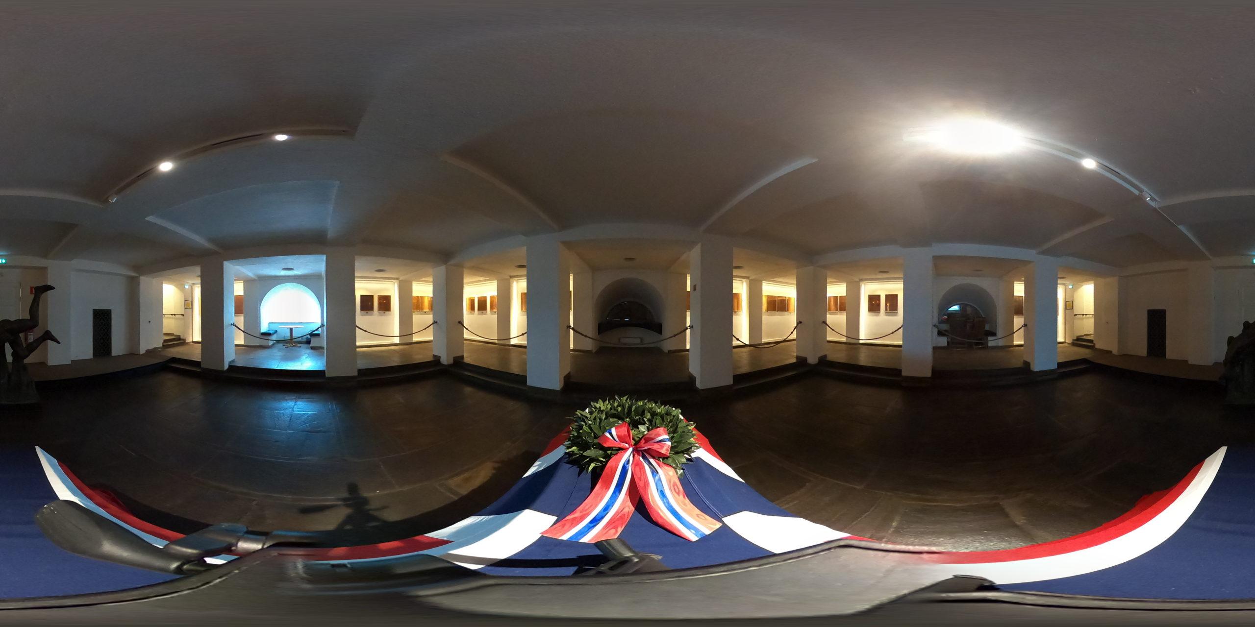 Virtuelt besøk i Minnehallen